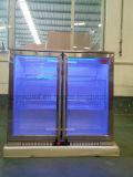 세륨, 콜럼븀을%s 가진 유리제 양쪽으로 여닫는 문 맥주 냉각장치 와인 쿨러