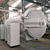 autoclave de borracha de Vulcanizating do aquecimento de vapor de 2800X4500mm com controle do PLC