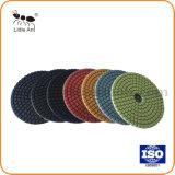 100мм Diamond Влажный пластик накладка для полирования гранита и мрамора