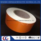 Высокое качество оранжевый светоотражающий материал пленки для дорожного знака