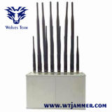 14 Band Desktop mobile Phone GSM CDMA 3G 4G Wi-Fi Lojack VHF UHF Radio All Bands Jammer