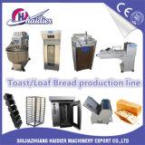 Tijdbesparend Brood die de Lopende band van het Voedsel Voor de Koffie van de Opslag van de Bakkerij maken