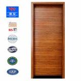 チークのベニヤの純木の外部の耐火性のドア