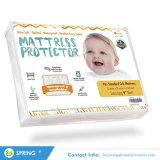 100% resistente al agua provisto de bebé pad protector de colchón acolchado para cuna
