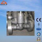 900lb/1500lb/2500lb Klep van de Controle van de Schommeling van de Verbinding van de druk de Hoge druk Van een flens voorzien (GAH64H)