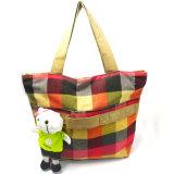 Custom Print хлопка моды Canvas женщина сумки с игрушек