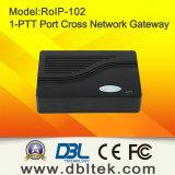 DBLの高性能十字ネットワークSIP VoIPゲートウェイ(RoIP-102)