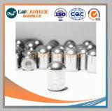Botão de carboneto de tungstênio Bits para perfurar