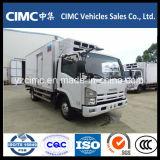 Новый Китай Isuzu кв600 4X2 120 HP охлажденных Ван погрузчика для продажи