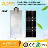 Luz al aire libre solar del jardín de la lámpara de calle de la alta calidad 60W LED