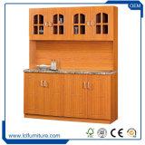 Fertigung-Preis-hölzerne Wohnzimmer-Schrank-Küche-Schränke
