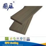 Panneau de plancher composé solide de Decking de la coextrusion WPC avec les graines en bois
