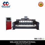 CNC Flat&Rotary Multi-Köpfe Engraver, 2D, Entwurf 3D CNC-Maschine