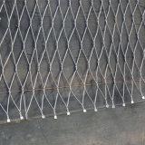 Het Netwerk van de Kabel van de Dierentuin van de Kabel van de Metalen kap van het roestvrij staal
