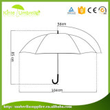 Горячее сбывание рекламируя зонтик промотирования с пластичной крышкой
