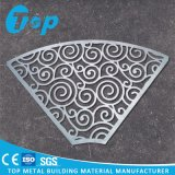 Commercial Building Carved Perforated Aluminum Solid Panel Screen for Wall Decoration