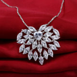 순은 925 형식 Jewellry Collar Colgante De Mujer Necklace