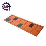 Vendita d'acciaio rivestita di Hote delle mattonelle di tetto della pietra di alluminio dello zinco in Bangladesh