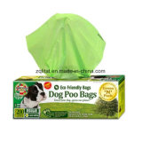 La fécula de maíz Imprimir perro Bolsa caca de residuos biodegradables