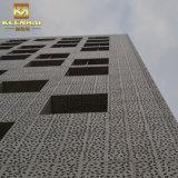 Keenhai 외부 장식적인 다색 알루미늄 정면 벽 클래딩 위원회