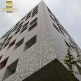 Panneau de revêtement en aluminium multicolore décoratif extérieur de mur de façade de Keenhai