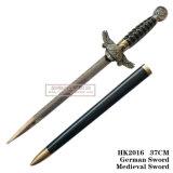 ヨーロッパのワシの短剣の西部の歴史的短剣のホーム装飾37cm