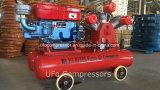 5bar de goedkoopste Beweegbare Mobiele Compressor van de Lucht van de Dieselmotor met de Tank van de Lucht