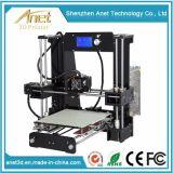 Anet A6 디지털 3D 인쇄 기계 발광 다이오드 표시를 가진 급속한 Prototyping 기계