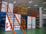 Sistema de racks de piso mezzanine com o aço SS400