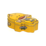 Metal irregulares Cookie tin box