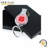 Ouvreur de bouteille promotionnel de coupe-ongles de trousseau de clés de cadeau de souvenir avec le logo