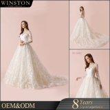 Классический стиль и дизайн Backless устраивающих свадебные платья