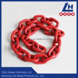 G80赤いプラスチック・コーティングのリンク・チェーン