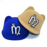 Schwarz/Rot/Brown/blaue nette Schutzkappen-Kind-Schutzkappen-Baseballmütze