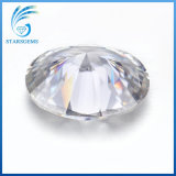 Hot Sale 7x9mm 1,5 carats ovale de la glace concassée Cut Moissanite Synthétique blanc