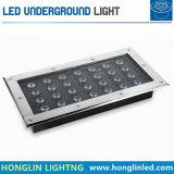 Quadratische LED 27X1w IP65 imprägniern 220V LED Tiefbau-LED helles im Freien LED LED Licht der Lampen-