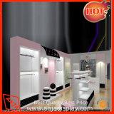Hölzerner kosmetischer Verkaufsmöbel-Standplatz für System