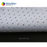 Feuerbeständiger Polyester-Digital-Drucken-Ineinander greifen-Fahnen-Entwurf