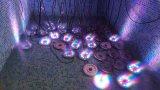 12X1w LED Brunnen-Licht LED unter Licht RGB