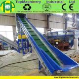 Schiacciamento tessuto pellicola dello scarto riciclando la pianta di lavaggio della pellicola di agricoltura del PE pp della macchina