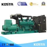 중국 최신 판매 1250kVA 3 단계 Cummins 디젤 엔진 발전기 100% 구리 철사 세트