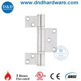 火の評価されるドア(DDSS042)のためのハードウェアSUS304 3の葉のヒンジ