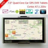 """Heiße private 7.0 """" HD 1080P Auto-Flugschreiber-Kamera mit androidem WiFi GPS Bluetooth Auto DVR, G-Fühler, Nachtsicht, parkendes Steuerauto-Gedankenstrich-Digital-Videogerät"""