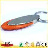Qualitäts-Arten der Plastik-und Metallzink-Legierung bildeten Schlüsselketten-und Schlüssel-Halter