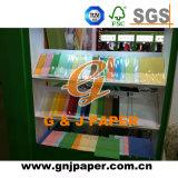 De bonne qualité du papier offset Woodfree 60GSM avec différentes couleurs