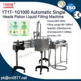 Tête simple automatique Machine de remplissage de liquide de piston pour le shampooing (yt1T-1G1000)