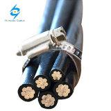 El PVC/PE/aislamiento XLPE Cable ABC Pignut 50mm2