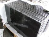 モンゴルの黒い花こう岩のSlabs&Tilesの花こう岩Flooring&Walling
