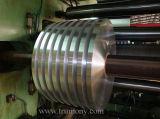 Cinta Finished del aluminio del molino/de aluminio/correa/tira estrechas para el radiador/el transformador autos. Cable. Cambiador de calor
