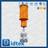Valvola a saracinesca pneumatica della flangia del fornitore della valvola della prova di Didtek 100%